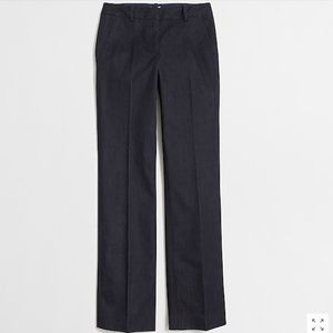 J. Crew Cotton Stretch Denim Trousers Work Pants